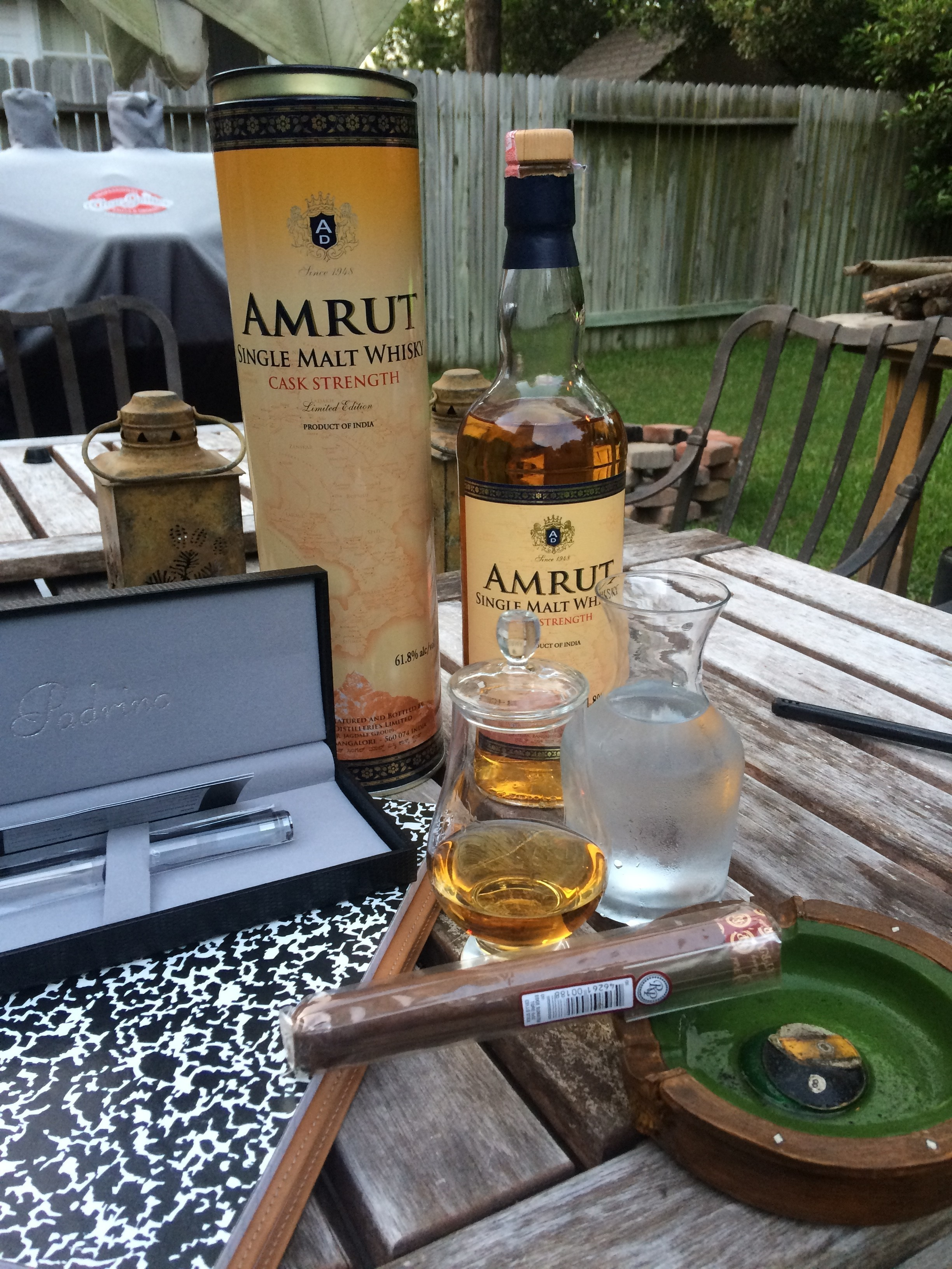 Amrut Single Malt Whisky- Cask Strength