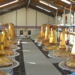 The magnificent stills at The Glenfiddich Distillery ©dMann's Whisky Pages