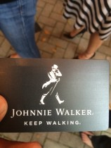 The Johnnie Walker Tasting Table Event