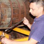 Michael D'Souza at Paul John Distillery
